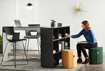 Designed for Quick Sits – Meet Campfire Pouf