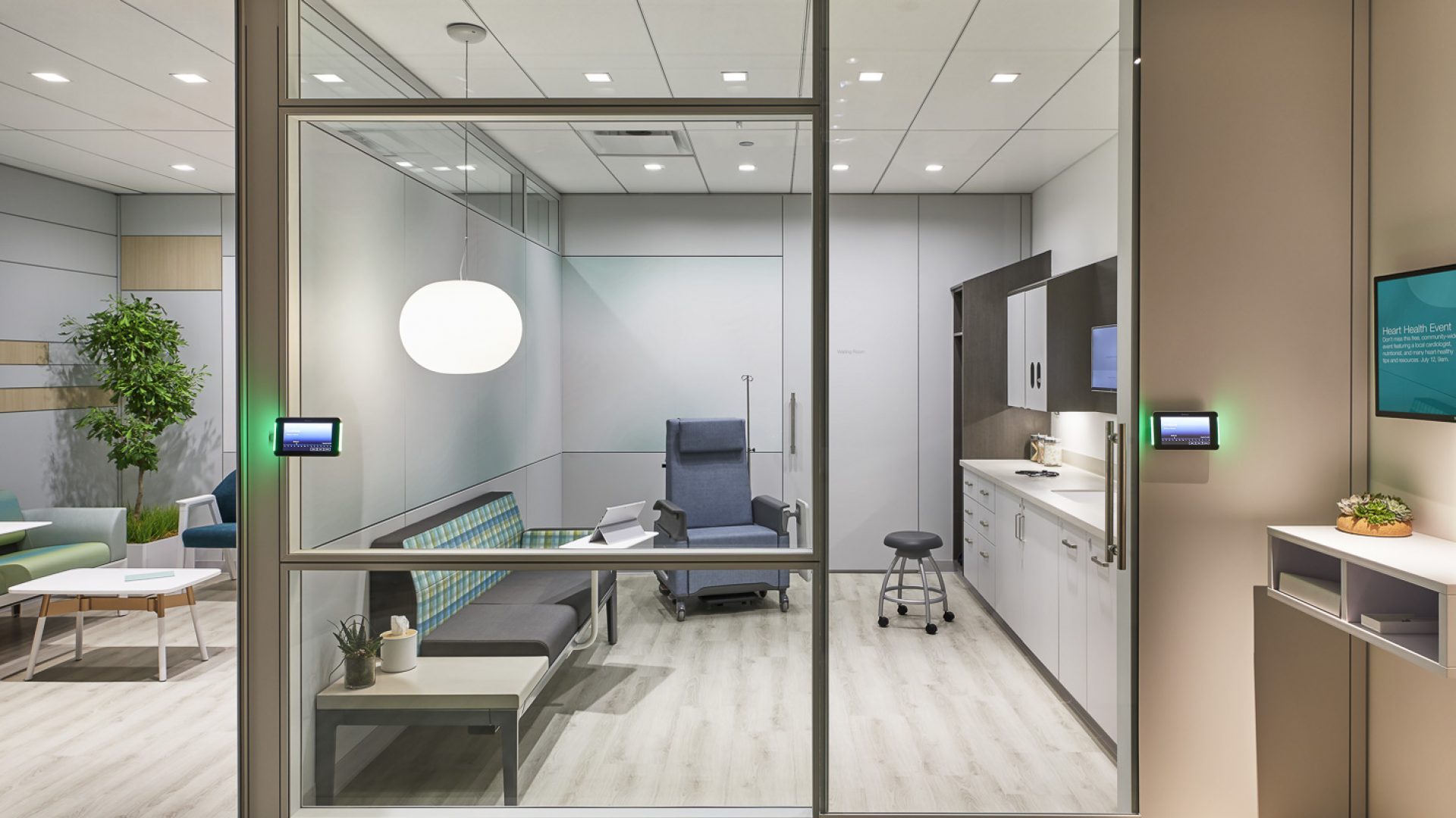 Custer's specialized healthcare team is trained to meet the unique needs of our diverse healthcare customers. From private practices to expansive health systems, Custer designs and builds exceptional healing spaces.