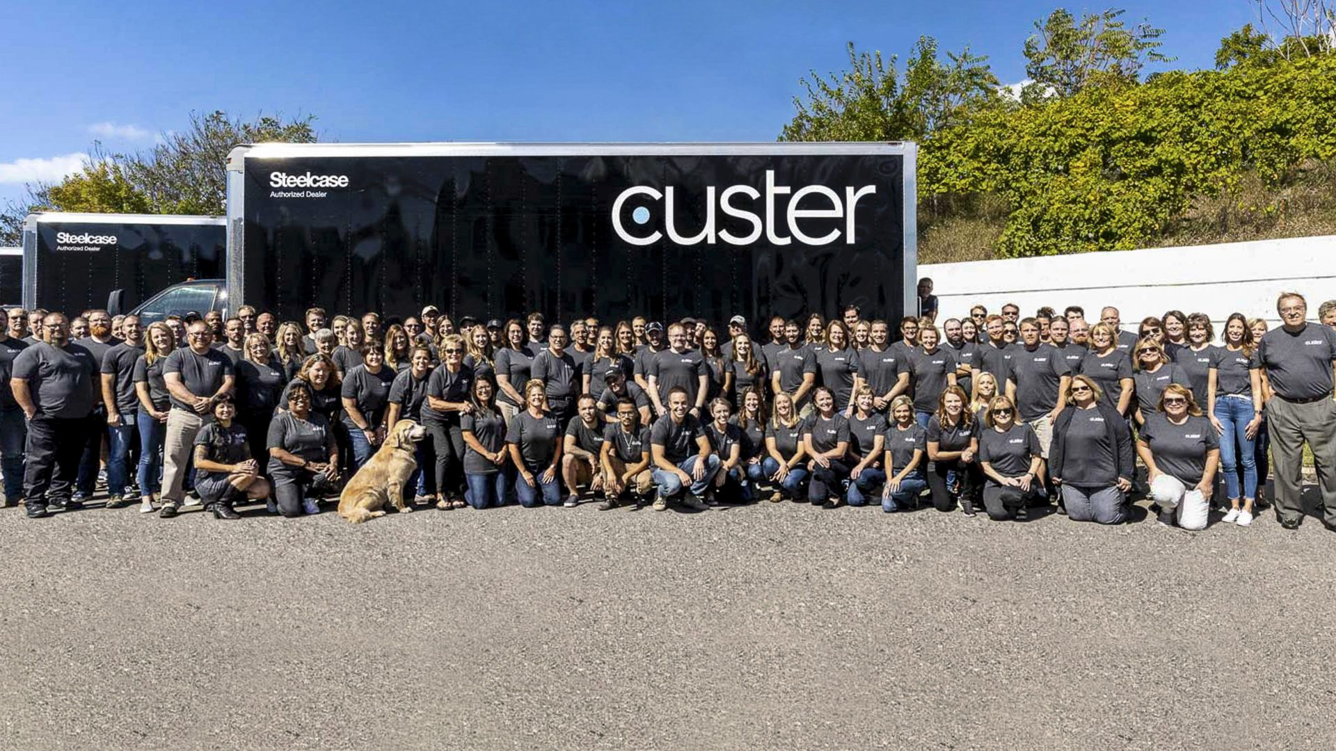 Our team, culture, and core values all reflect our belief that great spaces empower people to do their best work. Meet the faces of Custer below.